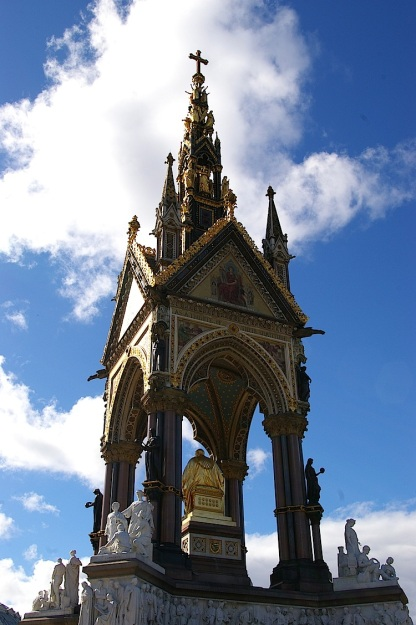 albert memorial gothic revival