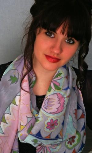model scarf